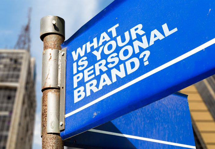 What Is Your Personal Brand? Road Sign